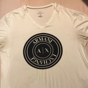 Armani exchange tee shirt